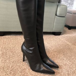 Colin Stuart knee high pointy boots 8.5